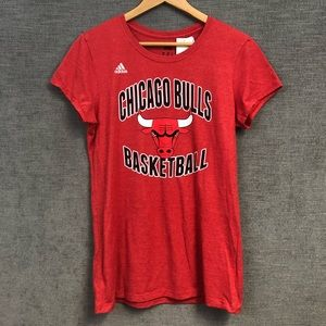 Adidas Chicago bulls wade #3 Womens XLarge shirt